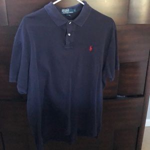 Polo by Ralph Lauren Navy Polo Shirt